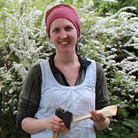 Anna Casserley spoon carver