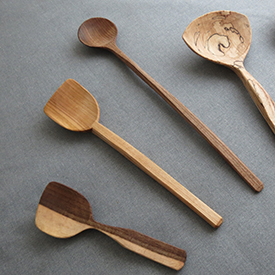 anna casserley handcarved spoons