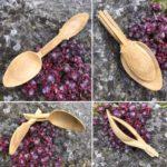 Breton folding spoons